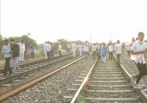 The Gurjar community continue to protest over reservation in Bharatpur